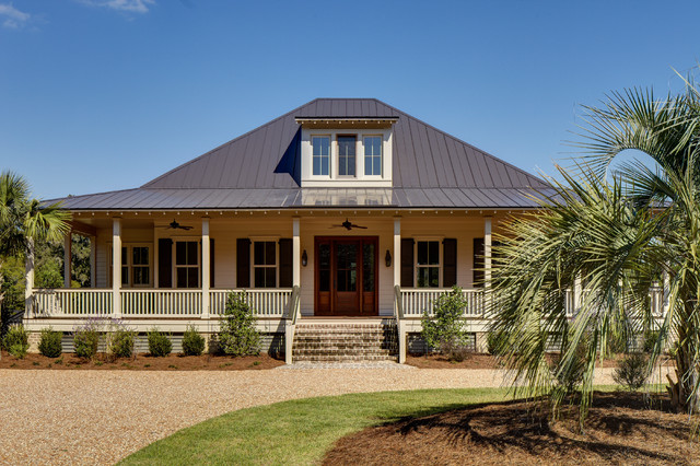 Baypoint Cottage At Brays Island Tropical Exterior