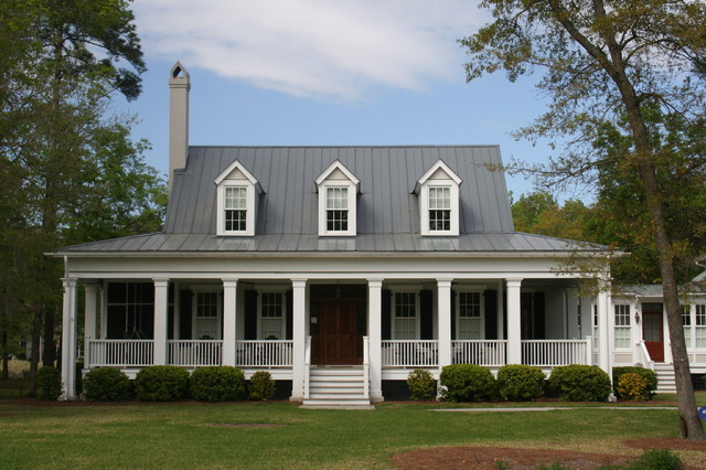 bayside homestead traditional exterior atlanta by our town plans