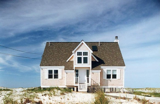 Ma cottage beach style exterior boston by acorn for Acorn house designs