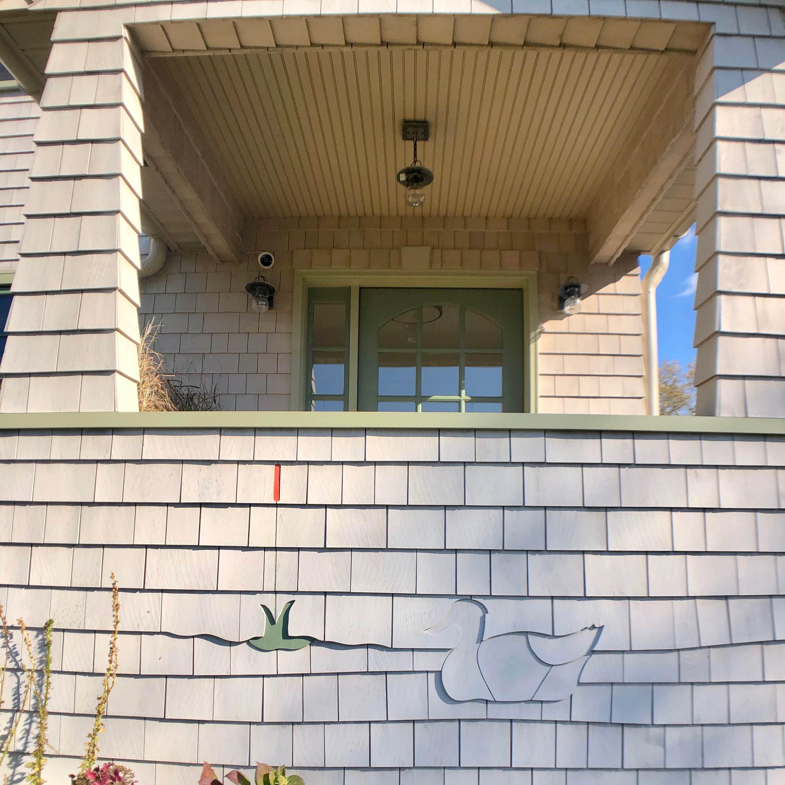 Beach House - Cedar Shake Siding Detail