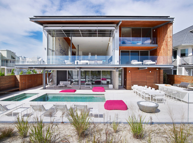 A Modern Beach House at the Jersey Shore - Design Milk
