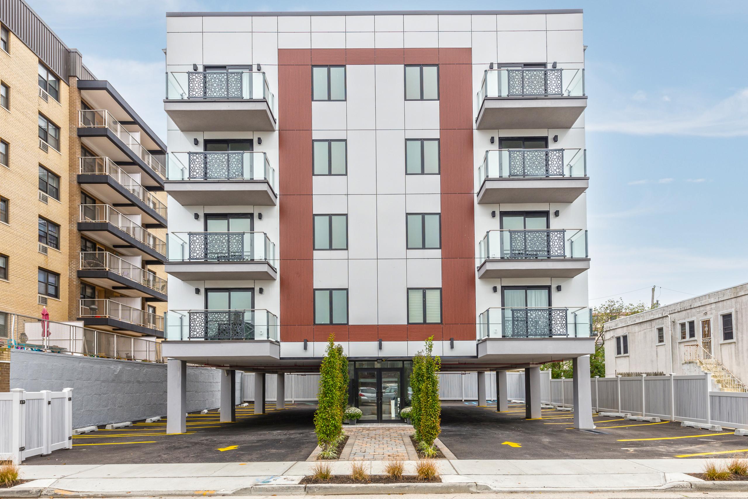 Beachfront Luxury Condominium Building
