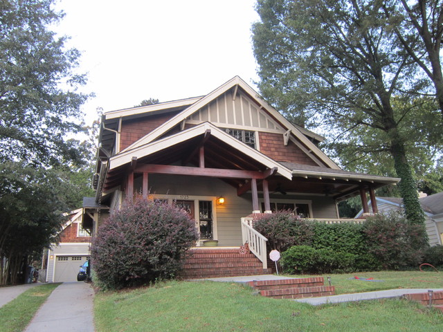 Beautiful Charlotte NC Craftsman Bungalow Complete Color Change