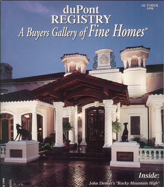 Beautiful dream home design mediterranean exterior for Dream home designs usa