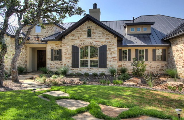 Beautiful family home highlands ranch rustic for Beautiful home exteriors