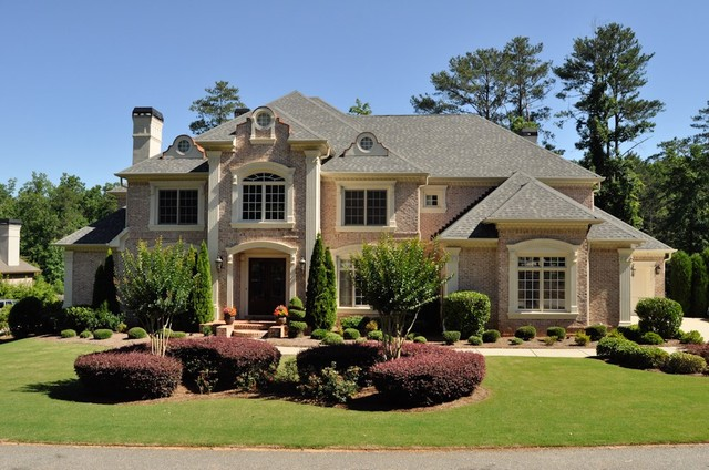 Beautiful Homes Builtmediterranean Exterior Atlanta