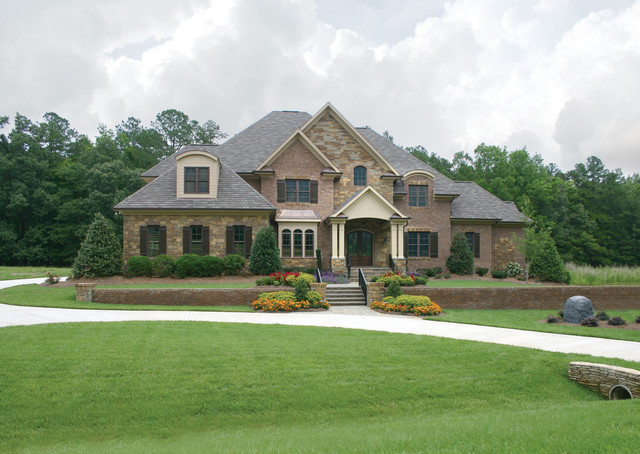 Superior Traditional Exterior Home Idea In Raleigh
