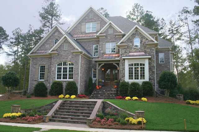 Beautiful homes traditional exterior raleigh by for Traditional home exterior