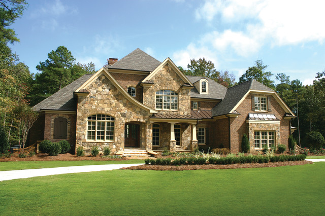 beautiful homes - traditional - exterior - raleigh -planworx