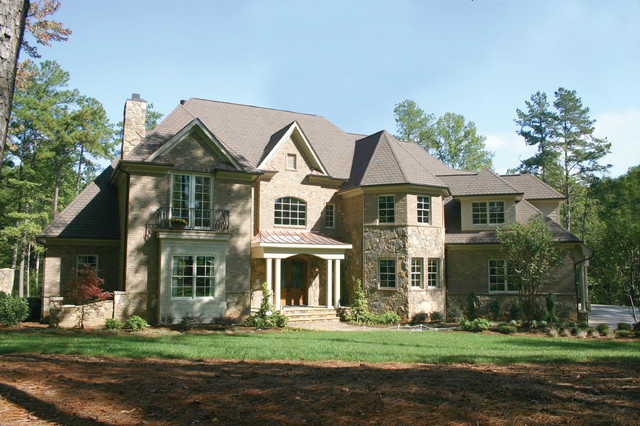 Beautiful homes traditional exterior raleigh by for Classic house design exterior