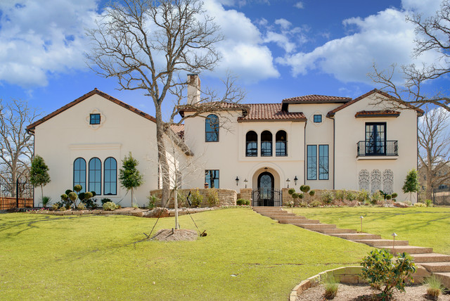 Beautiful spanish style home for Spanish style exterior