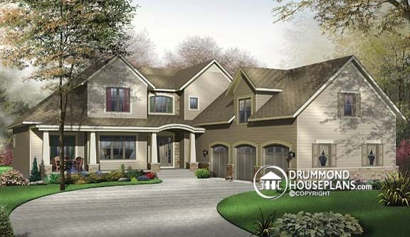 Beautiful top selling Traditional House Plan no 2659 by Drummond