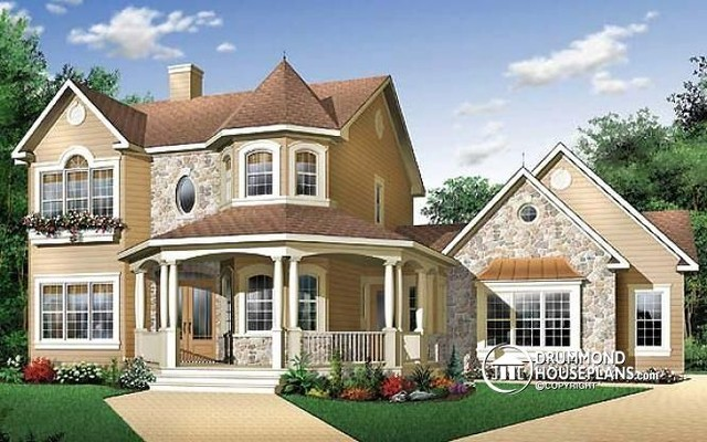Beautiful Victorian Cottage Photos By Drummond House Plans ( House