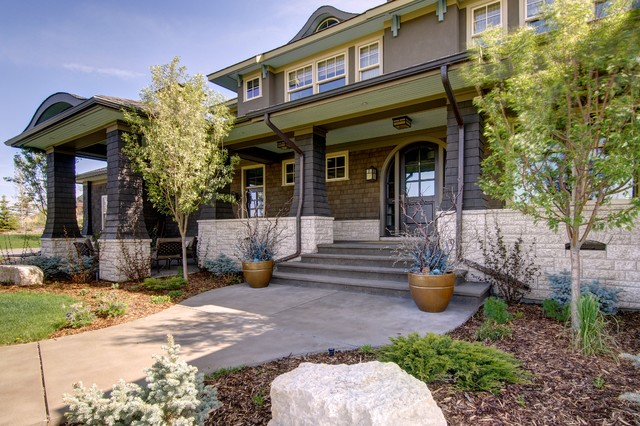 Beautifully Appointed Traditional Exterior Calgary By Rockwood Custom Homes