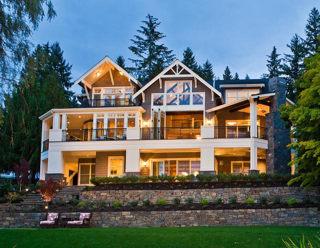 Beaver Lake Retreat by Design Guild Homes traditional-exterior
