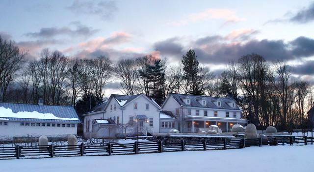 Bedford Farm farmhouse-exterior