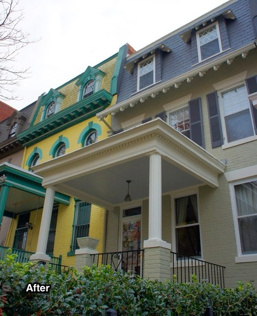 Before + After Mt. Pleasant Row House