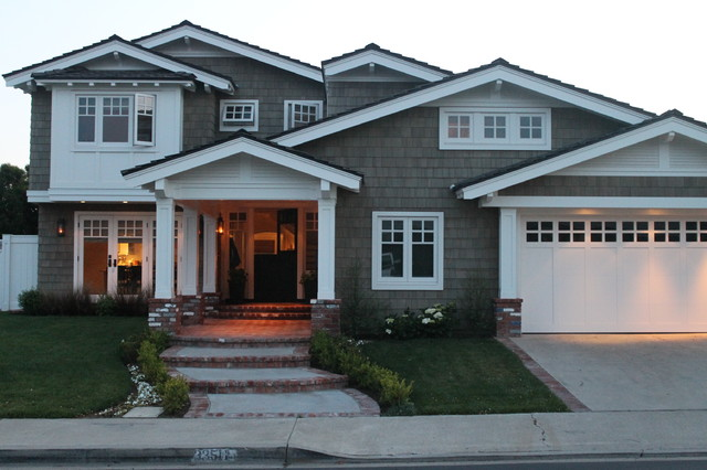 before and after exterior home traditional-exterior