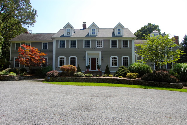 Before and after traditional-exterior