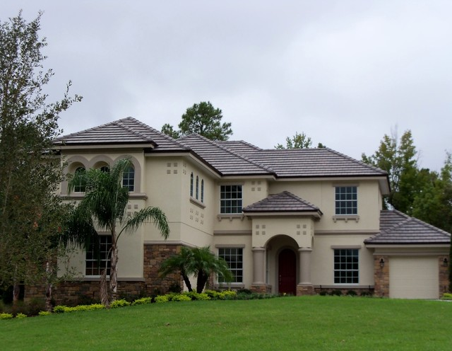 Belair 4687 Brown Gray Range Transitional Exterior