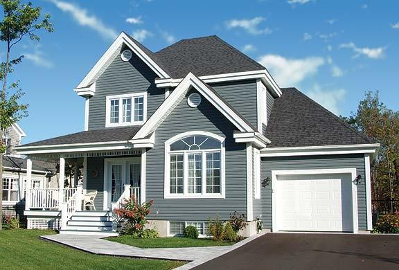 Plan Maison 3 Chambres 2 5 S Bain Garage 0