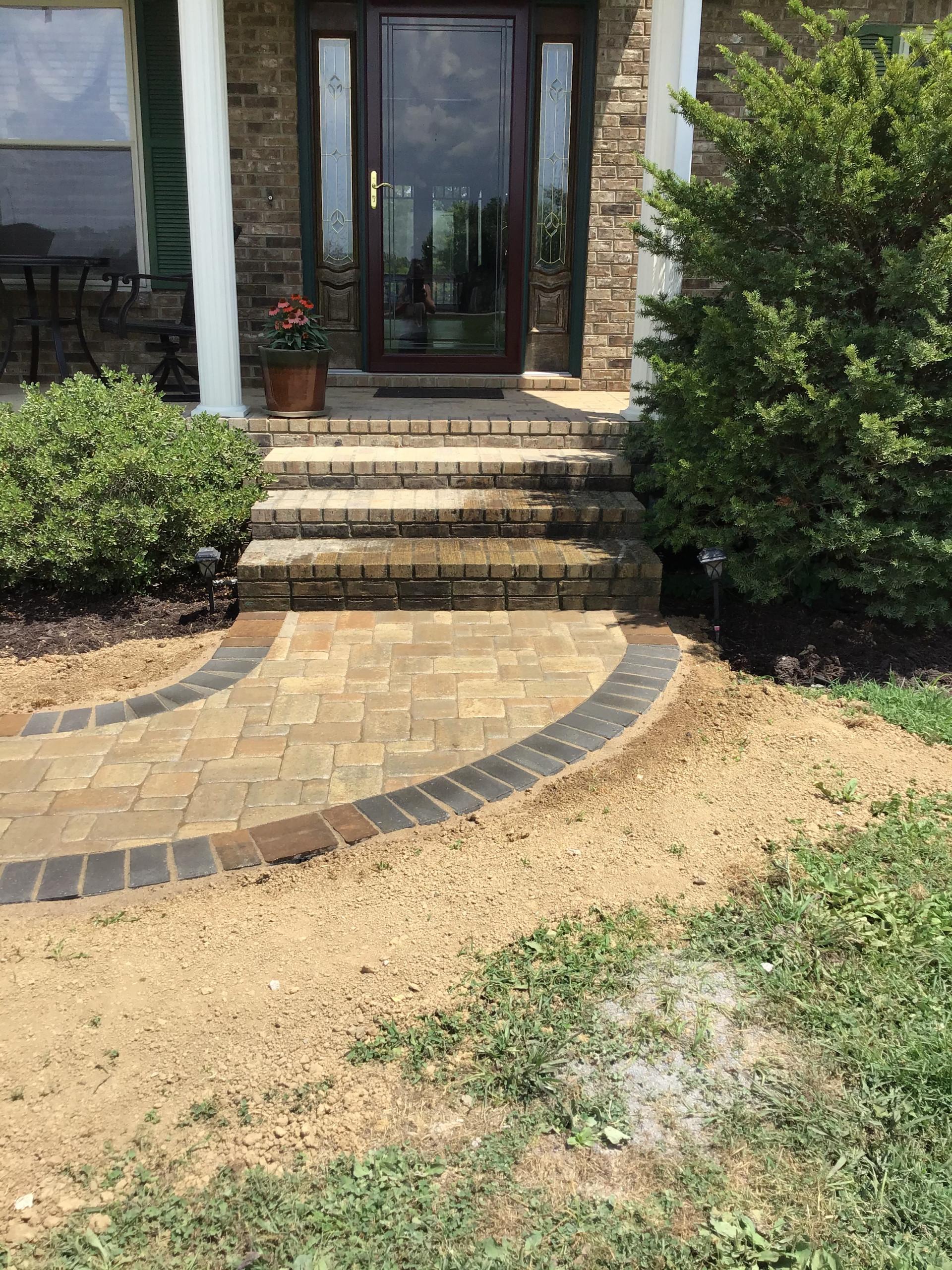 Belgard Paver Front Walkway