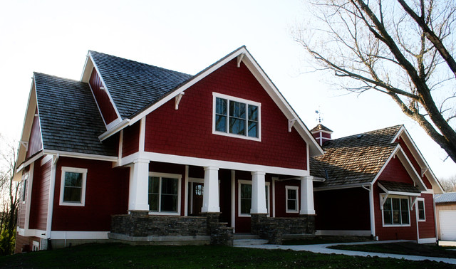 Alfa img showing red exterior paint color schemes - Exterior red paint colors ...