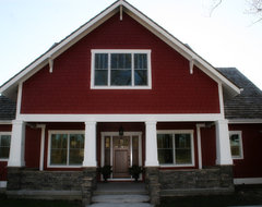 Bella Homes traditional-exterior