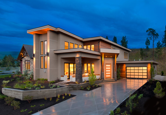 West coast contemporary exterior contemporary exterior Contemporary housing