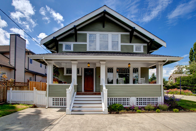 Bellevue House Craftsman Exterior Seattle By