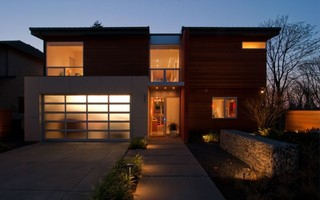 Bellevue Modern Exterior Seattle By Darwin
