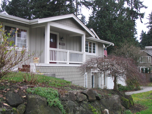 Bellevue Remodel and Addition traditional exterior