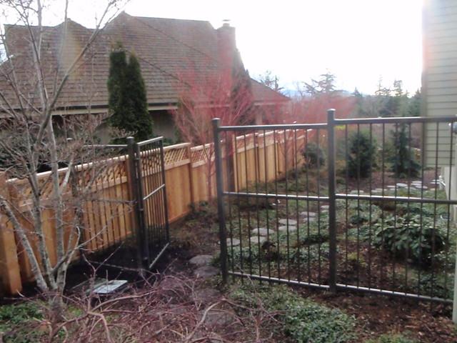 Bellingham estate fence asian exterior seattle by for Accents salon bellingham