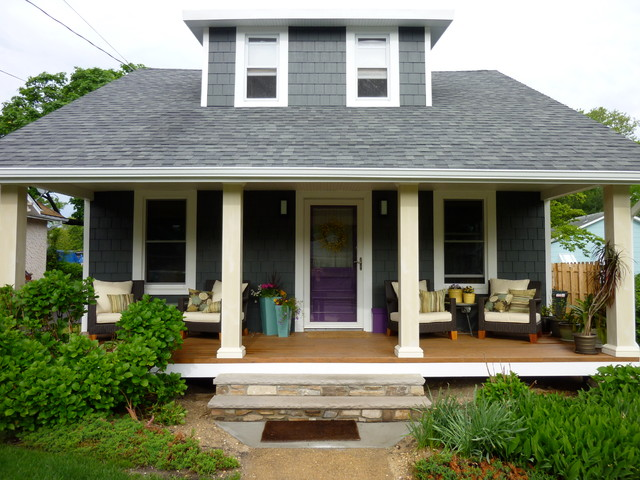 Belmar bungalow - Traditional - Exterior - other metro - by place architecture:design