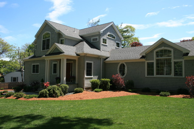 Belmont Custom Home - Contemporary - Exterior