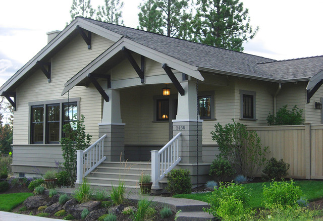 Bend residence for Bungalow porch columns