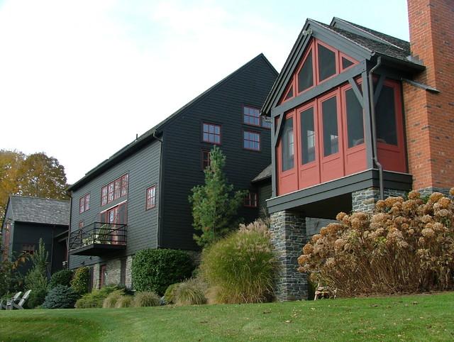Berkshire House II contemporary-exterior