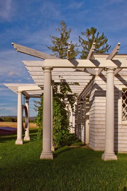 Berkshires Estate Restoration traditional-exterior