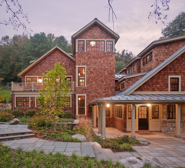 Berkshires Residence rustic-exterior