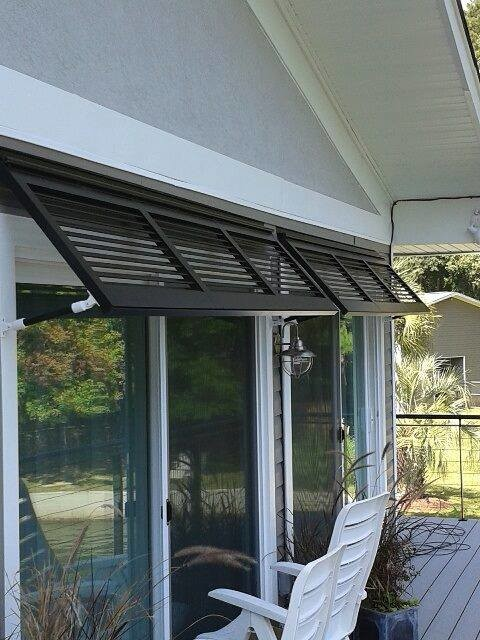 Bermuda shutters beach style exterior other by the plantation shutter company for Bermuda style exterior shutters