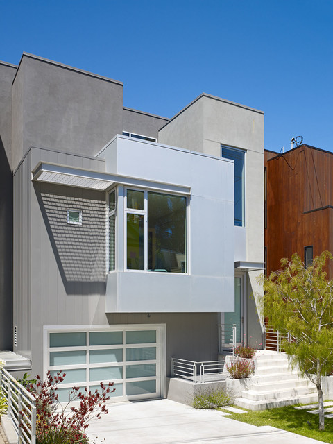 Bernal residence contemporary exterior other metro - Limpressionnante residence bernal heights san francisco ...