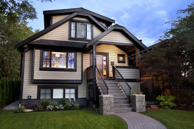 Best Builders Ltd Craftsman Exterior Vancouver By