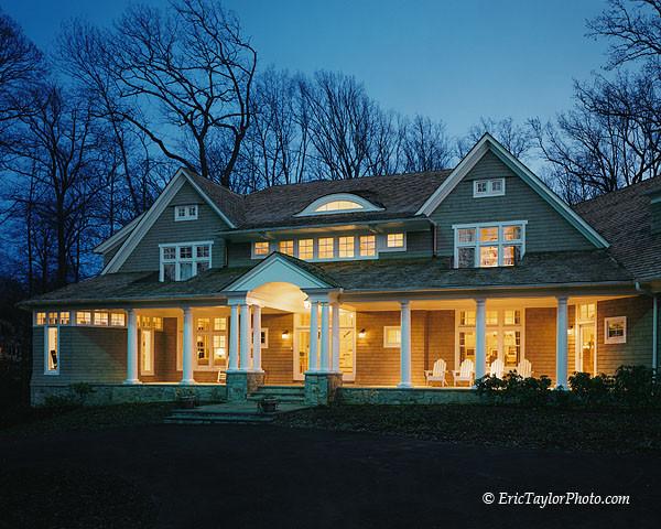 Bethesda home contemporary-exterior