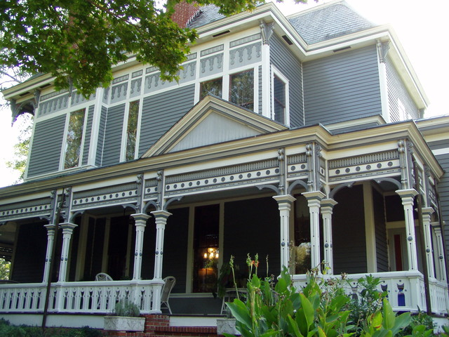 Traditional Exterior by Between Naps on the Porch