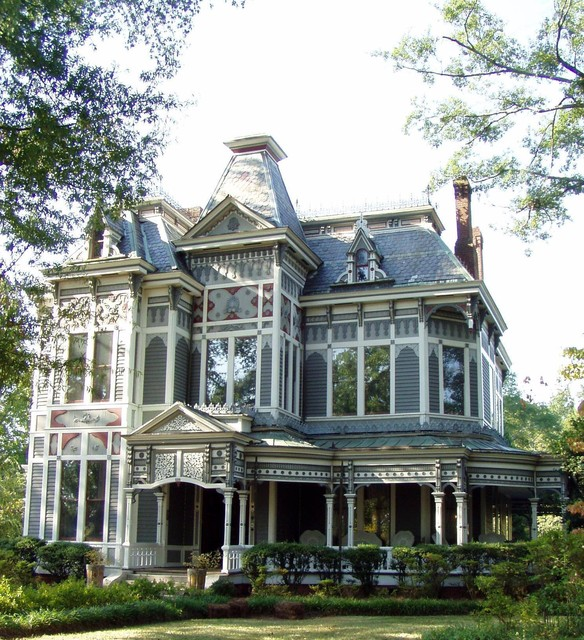 Delightful Victorian Traditional Homes #4: Between Naps On The Porch Victorian-exterior