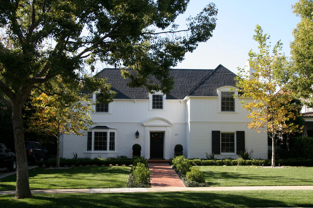 Beverly Hills Georgian Colonial Traditional Exterior