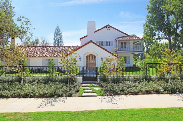 Beverly Hills Home mediterranean-exterior