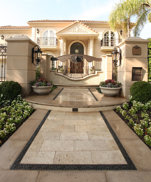 Beverly Hills Villa Traditional Exterior Los Angeles