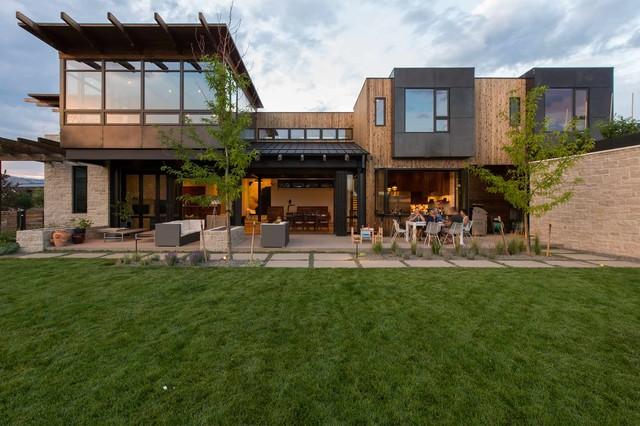 Big Alpine Contemporary Exterior Denver By Surround Architecture Inc