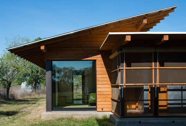 Big Tree Camp modern-exterior